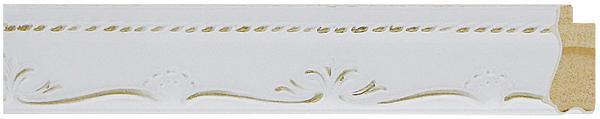 52 branca com ouro     3,5cm