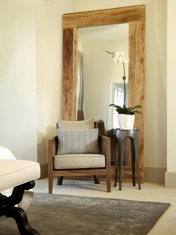 large-wood-frame-mirror-simple