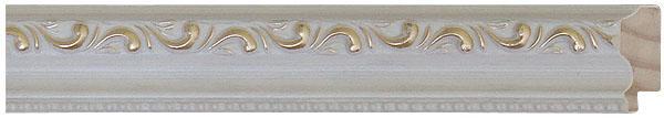 51 branca com ouro 3,5 cm