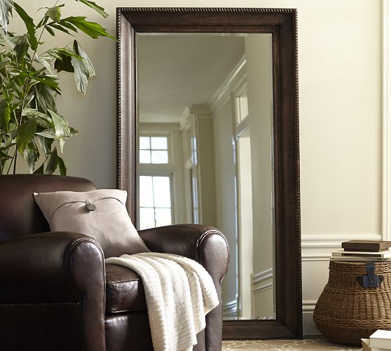 pottery-barn-old-oxford-mirror-nails-framing